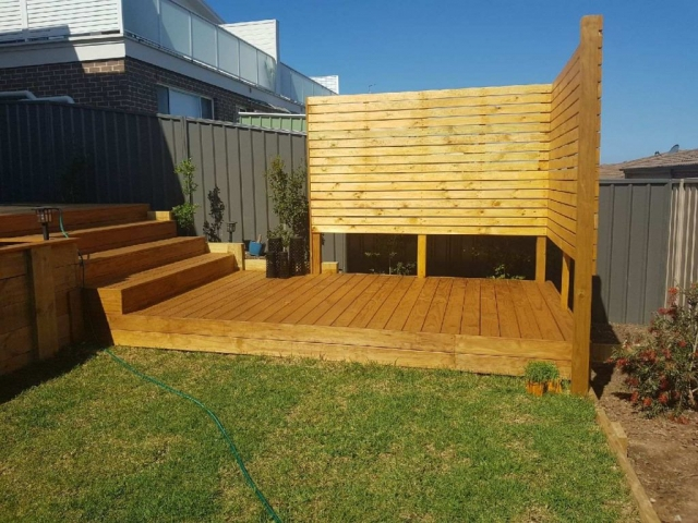 Decking, Patio, Entertainment Area, Backyard