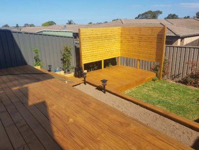 Backyard Transformation 1